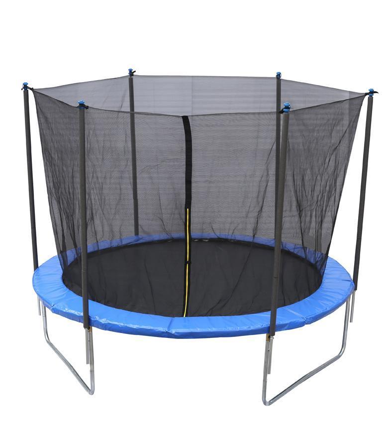 Trampolína Skipjump XS08, 240 cm, sieť, rebrík, Kidsafe