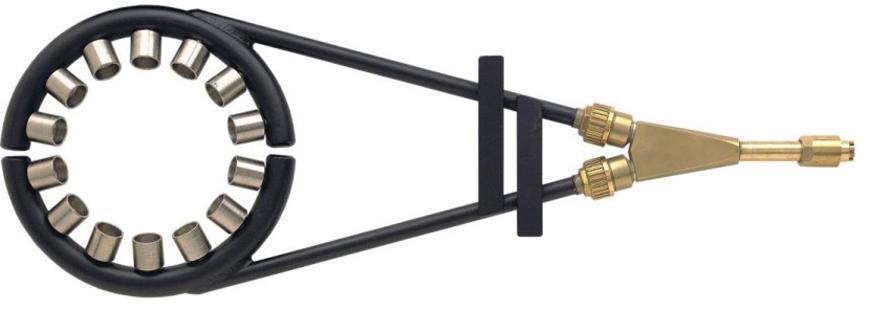 Nastavec Messer 440.10250, Supertherm RGZ-PMY/D, d=250mm, kruhový