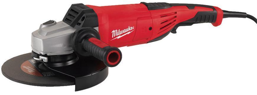 Bruska Milwaukee® AGV 22-230/DMS, 230 mm, 2200W, uhlová