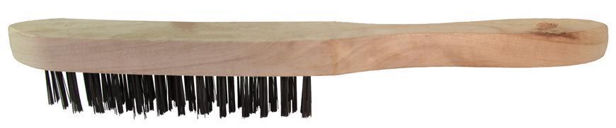 Kefa Strend Pro WB308 1406, 4 radová, oceľová, drevená rúčka