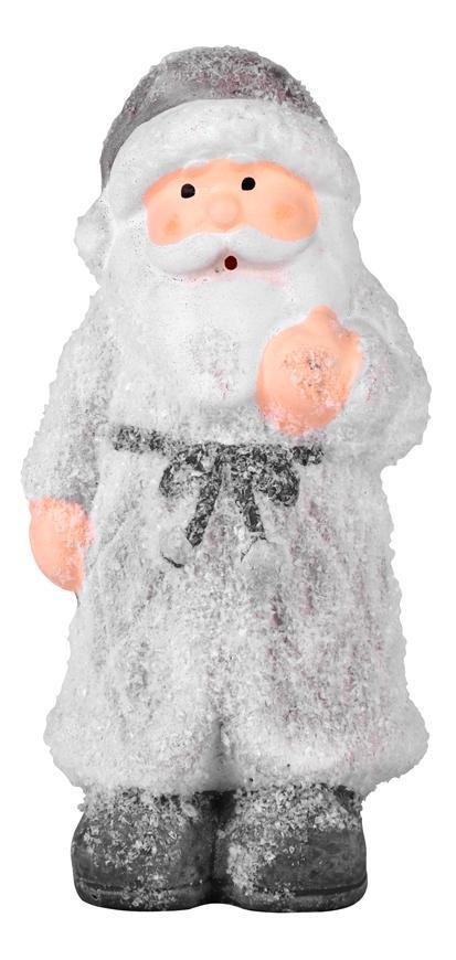 Postavička MagicHome Vianoce, Santa stojaci, terakota, 12 cm