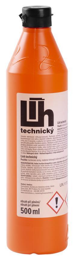 Lieh technický, 500 ml