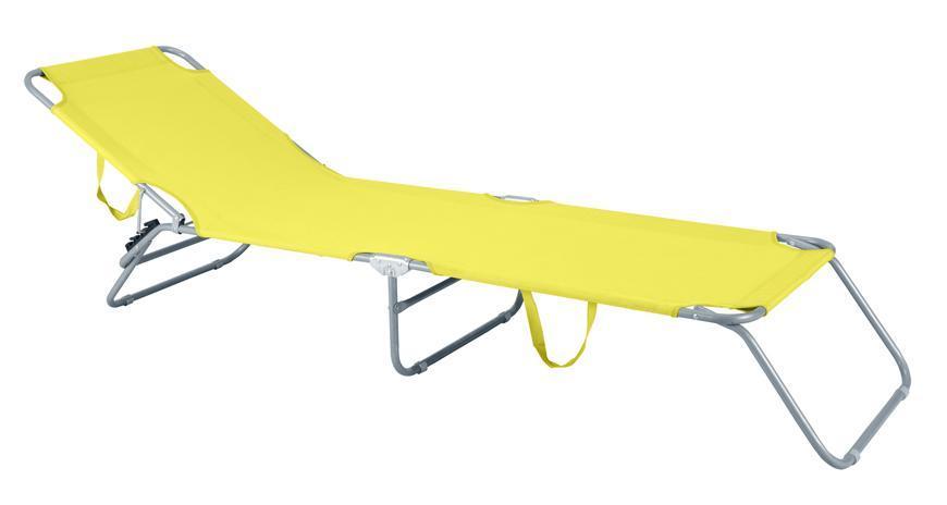 Lehatko PANAMA, žlté, 188x55x27 cm
