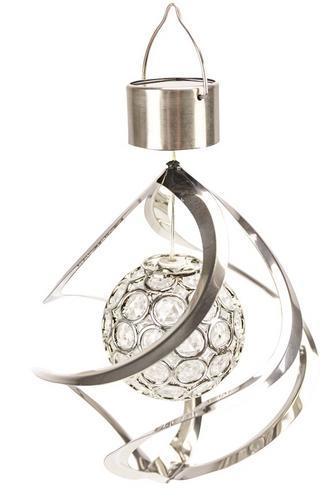 Lampa Solar Acamar, 160x230 mm, 1 farebná LED, 2/3AAA