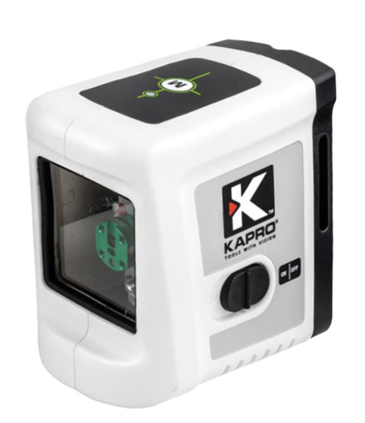 Laser KAPRO® 862G Prolaser®, Cross, GreenBeam