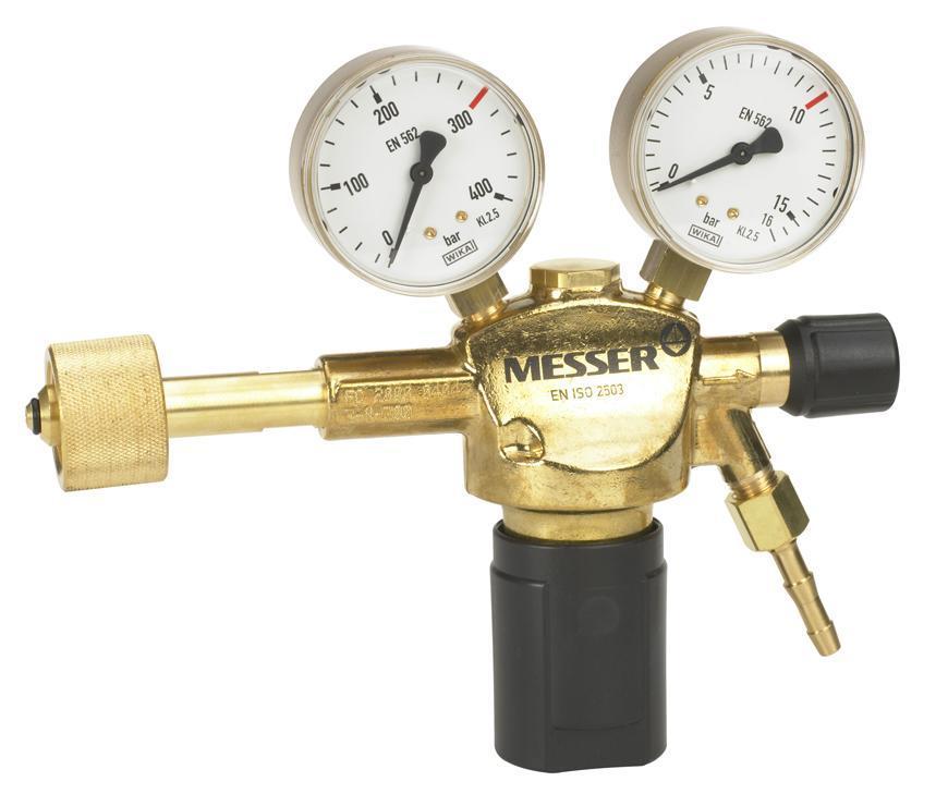 """Ventil Messer 717.06707, G1/4"""", DN8, 10bar, Dusik/Och. plyn, vstup 300bar"""