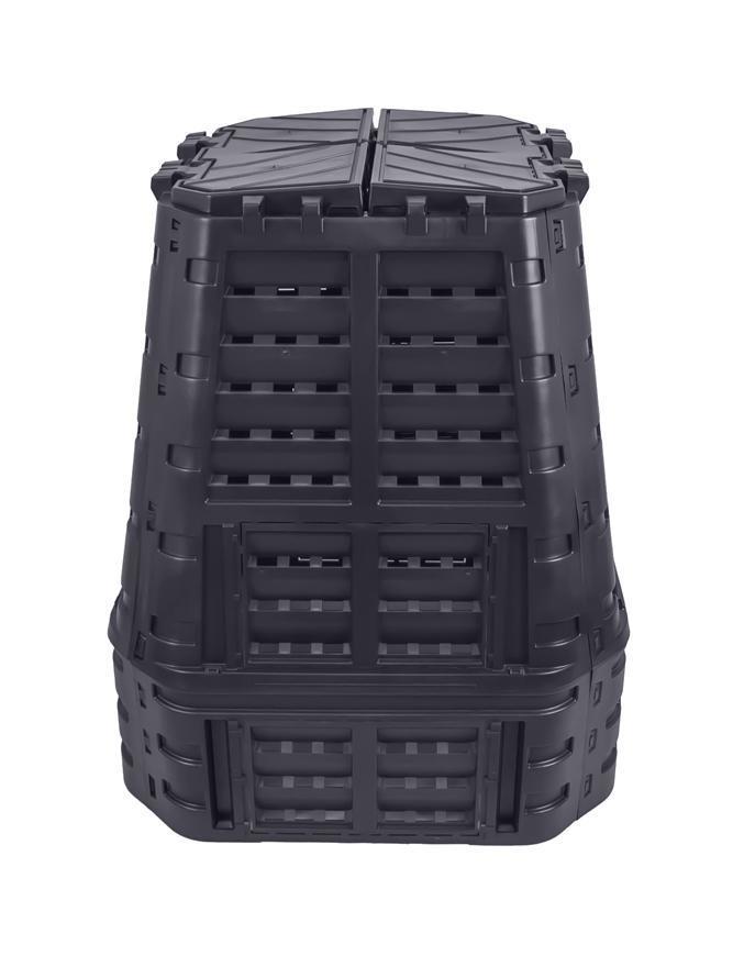 Komposter Patrol ECO Multi 650 lit, čierny, PE