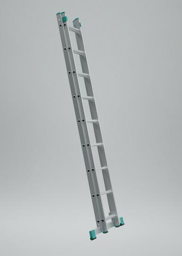 Rebrík ALVE 7514, 2x14, univerzálny, A400 B683
