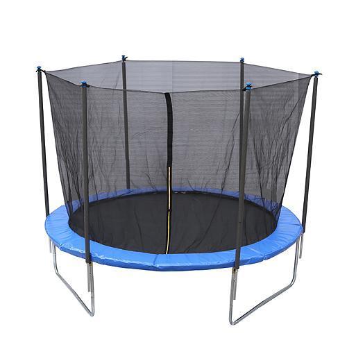 Trampolina Skipjump XS10, 305 cm, sieť, rebrík, Kidsafe