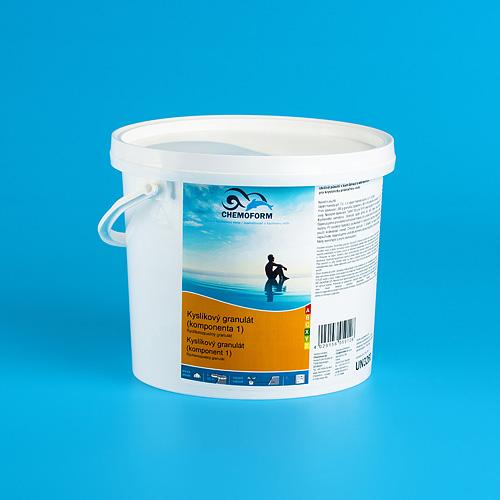 Prípravok Chemoform 0591, Kyslíkový granulát - komponent 1, 1 kg