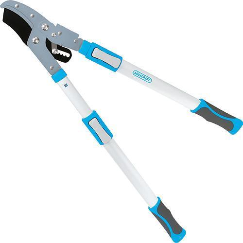 Nožnice AQUACRAFT® 360770, na konáre, cut.40 mm, Alu/SoftGrip, s nákovkou, teleskopické +30 cm
