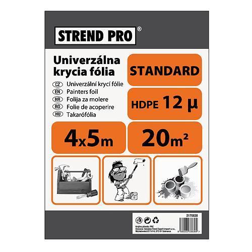 Fólia Strend Pro maliarska, Standard 4x12,5 m, 12µ, zakrývacia