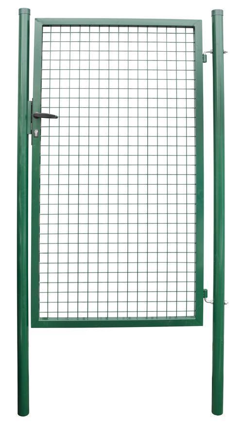 Brana METALTEC ECO 1000/1200/50x50 mm, záhradná, zelená, ZN+PVC, RAL6005