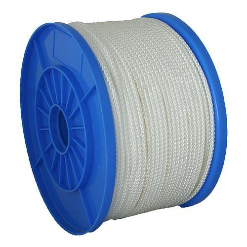 Lano Strend Pro NDB200, 06 mm, biele, 90 m, Nylon, nos. 576 kg