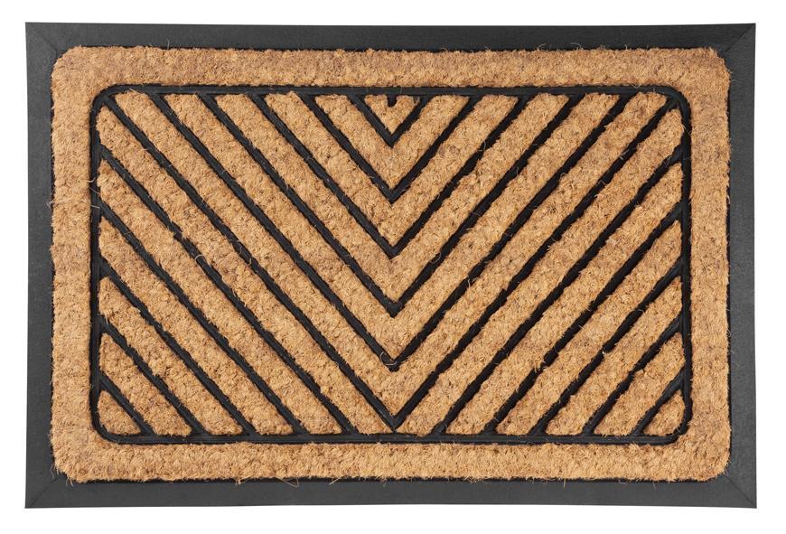 Rohozka MagicHome RBC 130, Arrows, 40x60 cm, guma/kokos