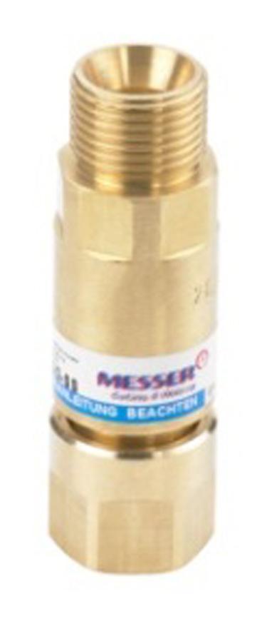 """Poistka Messer 0.346.364, MS/MSID/MSAP • G3/8"""" LH, Hor. P., 5bar"""