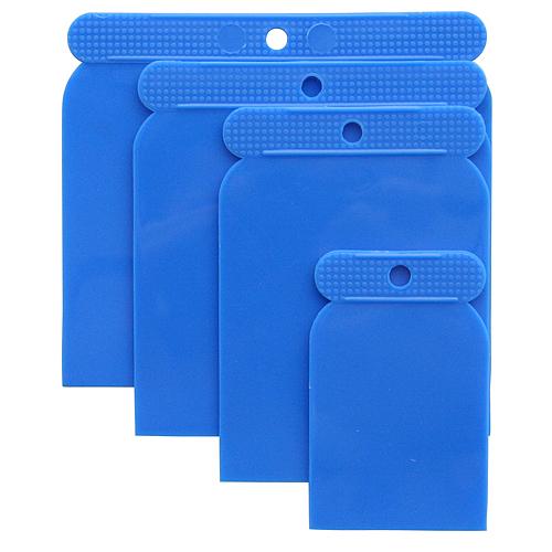 Sada stierok Strend Pro SS080 4 dielna, Plast, 50-80-100-120 mm