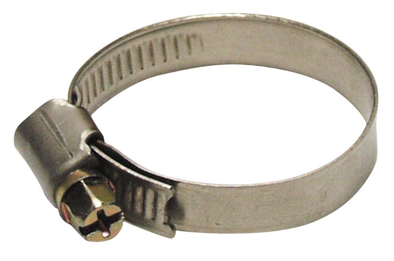 Spona upínacia S301 16-025 mm, na hadicu, Inox, nerez