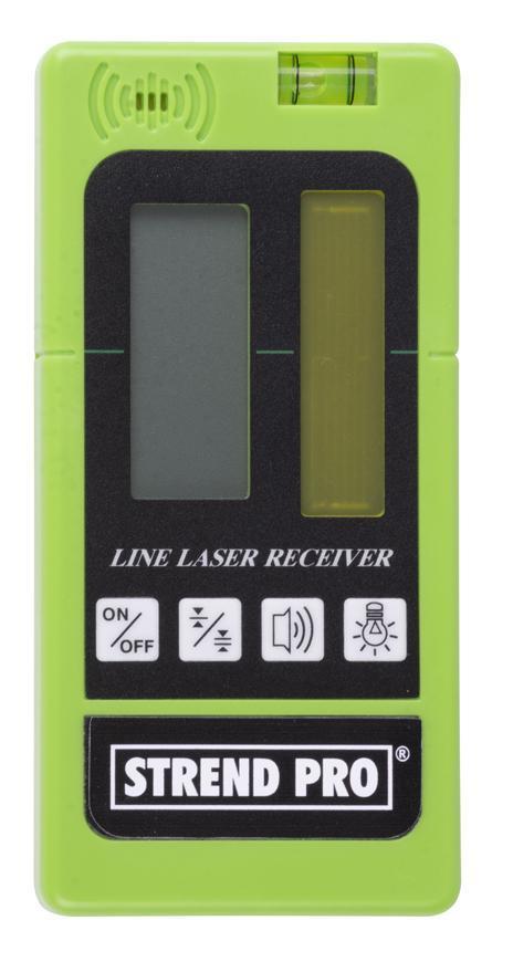 Detektor Strend Pro GREEN, zelený lúč, diaľkový príjimačk laseru