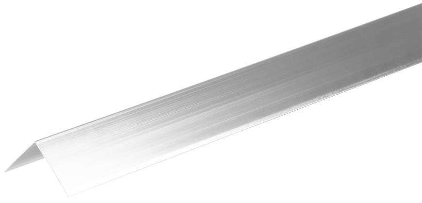 Lišta Strend Pro CS147, Alu 1500x40x0,8 mm, strieborná lesklá,  0,8 mm, rohová