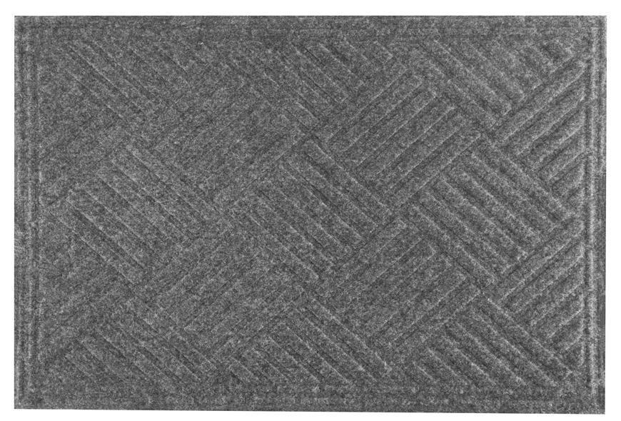 Rohožka MagicHome CBM 5011, Rhombus, 60x40 cm, seda