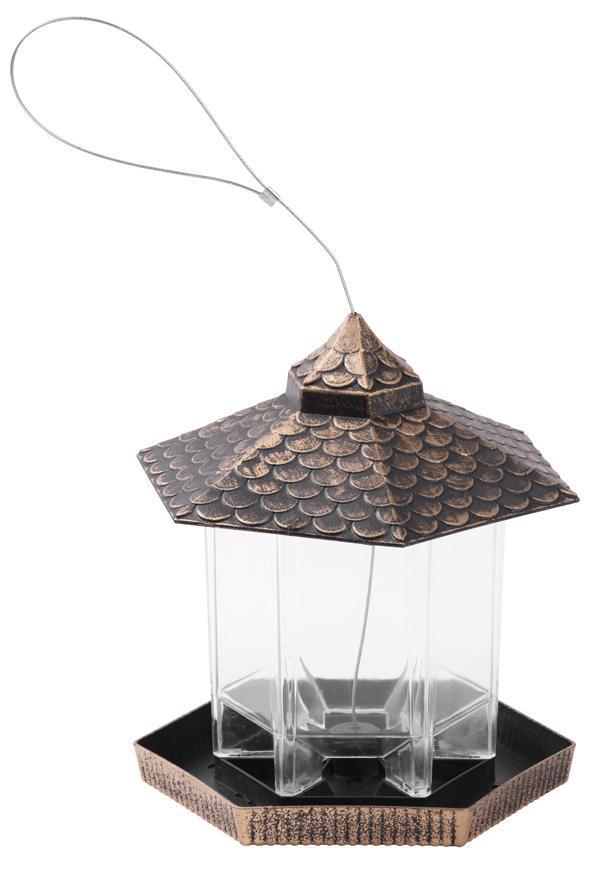 Krmitko Strend Pro, pre vtáky, 19x22 cm, 900ml, plast