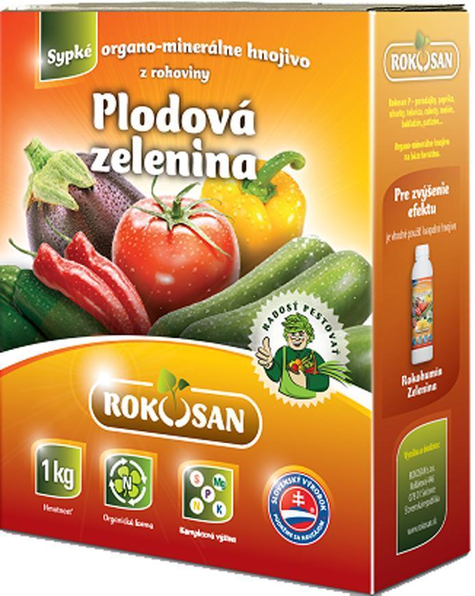 Hnojivo Rokosan Plodová zelenina, 1 kg