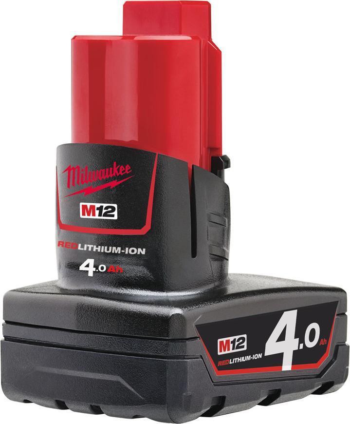 Akumulator Milwaukee M12 B4 Li-ion, 12V, 4.0 Ah