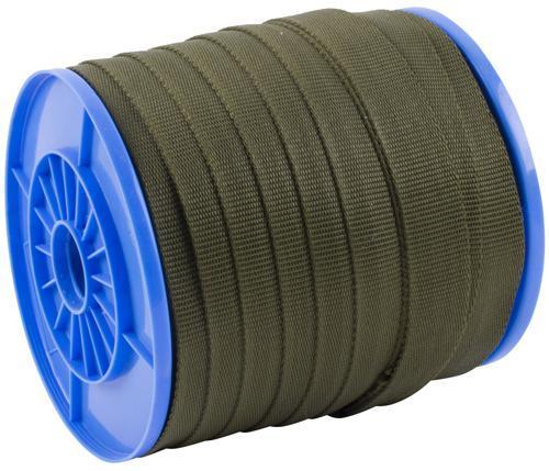 Popruh upínací Strend Pro WR50, 35 mm, zelený, 70 m, PP, max. 270 kg