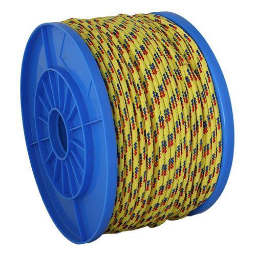 Lano Strend Pro MDB200Y, 05 mm, žlto-modro-červené, 130 m, PP, nos. 119 kg