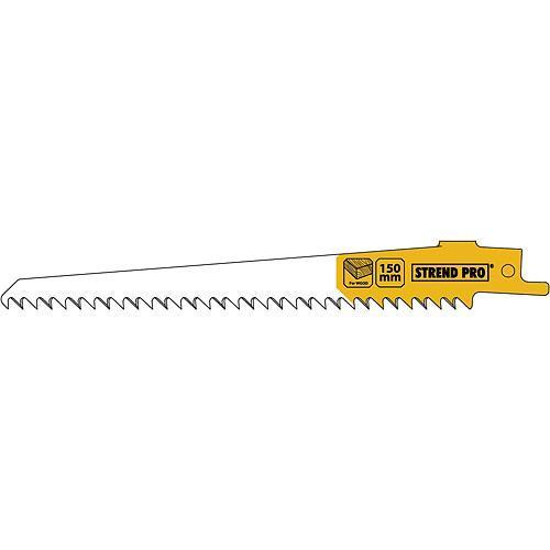 List do chvostovej píly Strend Pro SBW-242, 150/1.25 mm, wood, HCS, S644D