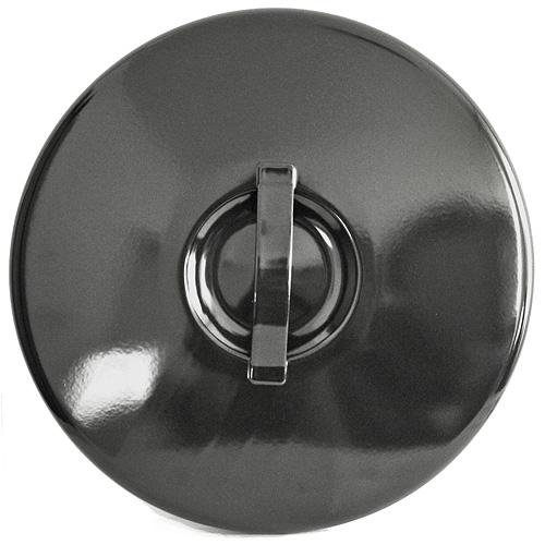 Pokrievka Thorma 15 lit, smaltovaná, čierna