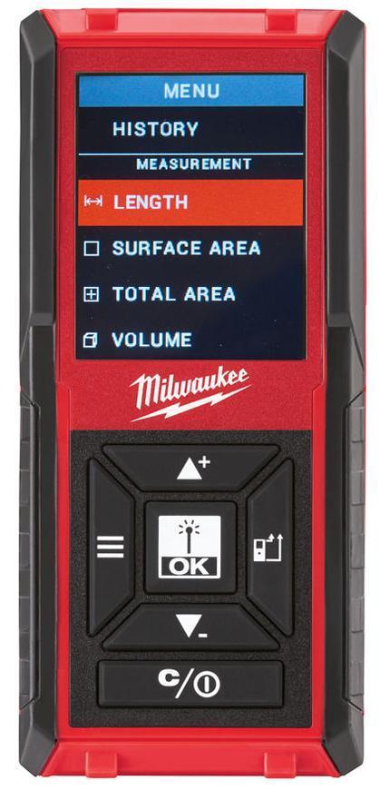 Dialkomer Milwaukee LDM 45, 45m, laserovy