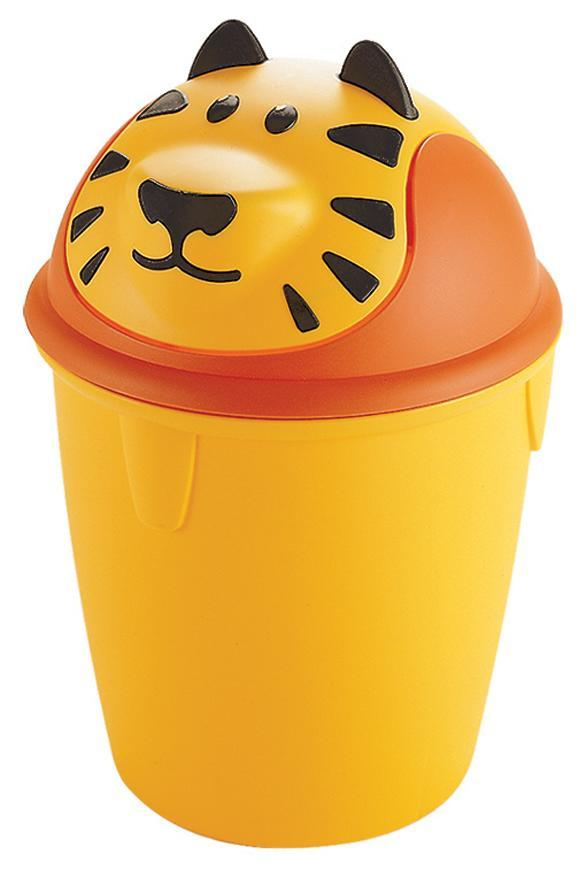 Kôš Curver® TIGER BIN, tigrík, detský, 26x26x38 cm, na odpad