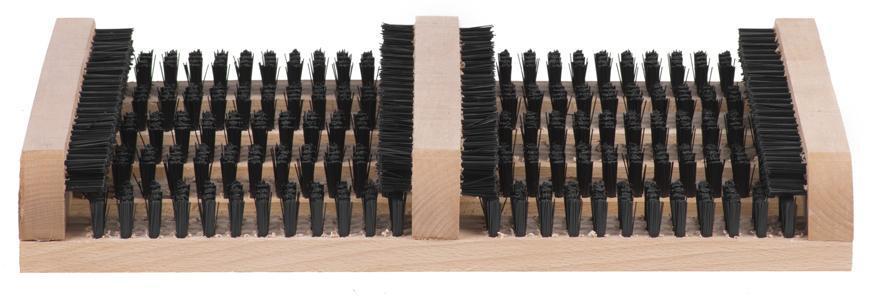 Rohožka GECO WMN.1, 360x265x55 mm, drevo, škrabák na obuv