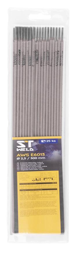 Elektródy ST Weld, AWS E6013, 2,0x300 mm, 25 ks, Rutile