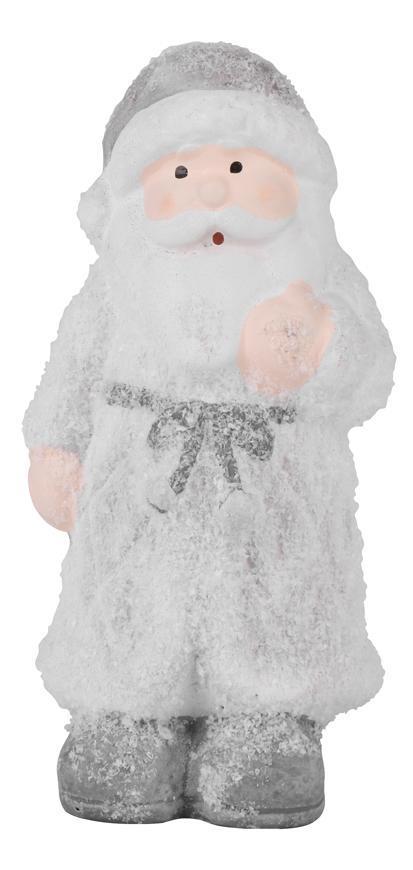 Postavicka Santa stojaci, terakota, 12 cm