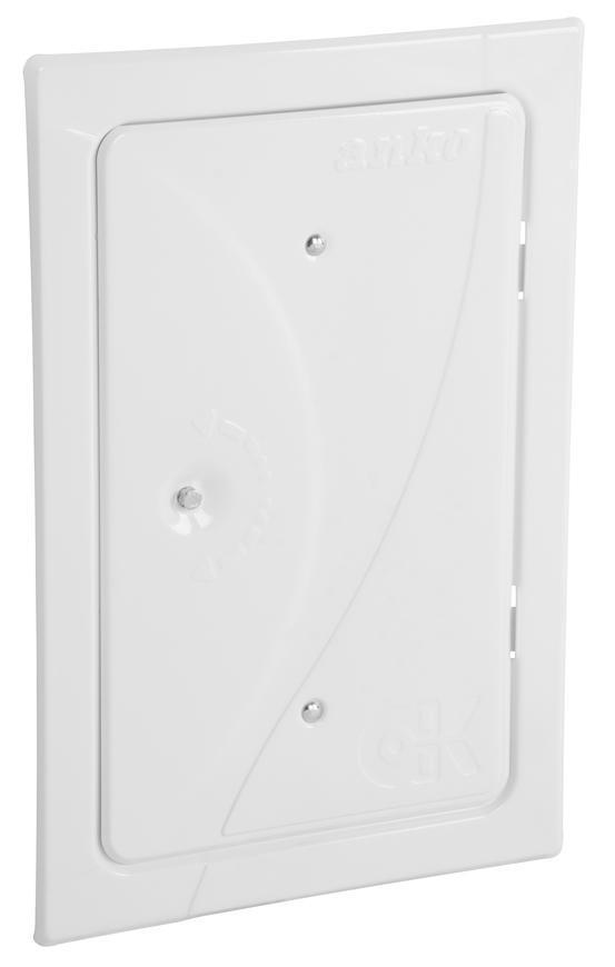 Dvierka Anko C2.2G 160x280 mm, komínové, biele, revízne