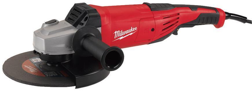 Bruska Milwaukee® AG 22-180/DMS, 180 mm, 2200W, uhlová