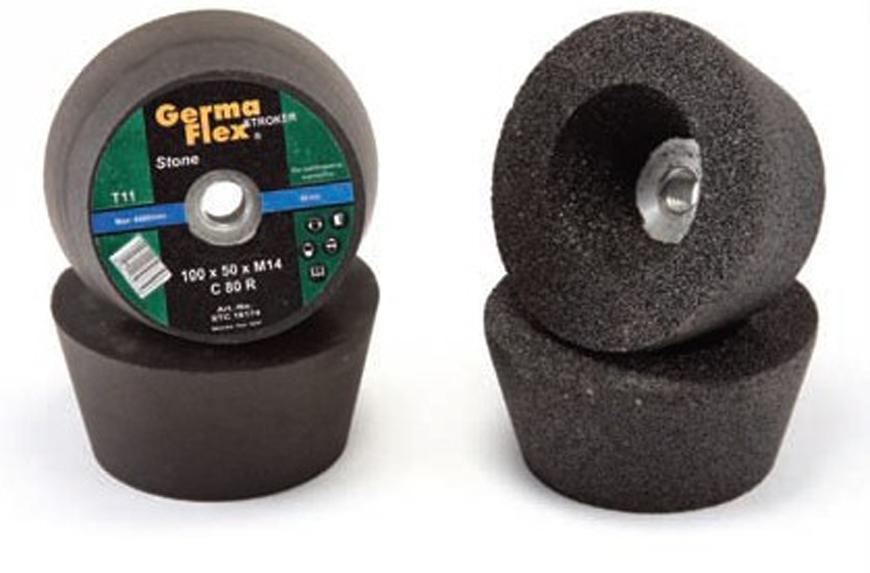 Kotuc GermaFlex Stroker C T11 100x50xM14 mm, C060R