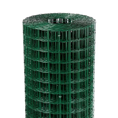 Pletivo EUROPLAST 3, 2000/50x50/2,20 mm, zelene, RAL 6005, Zn+PVC, ohradove, bal. 25 m