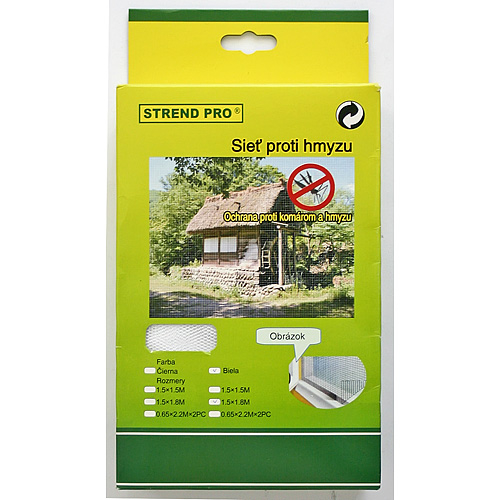 Siet FlyScreen3 150x090 cm, proti hmyzu, hnedá PE