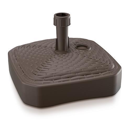 Stojan MPKR, hnedý, 390x390 mm, PVC, na plážový slnečník/dáždnik 20-26 mm