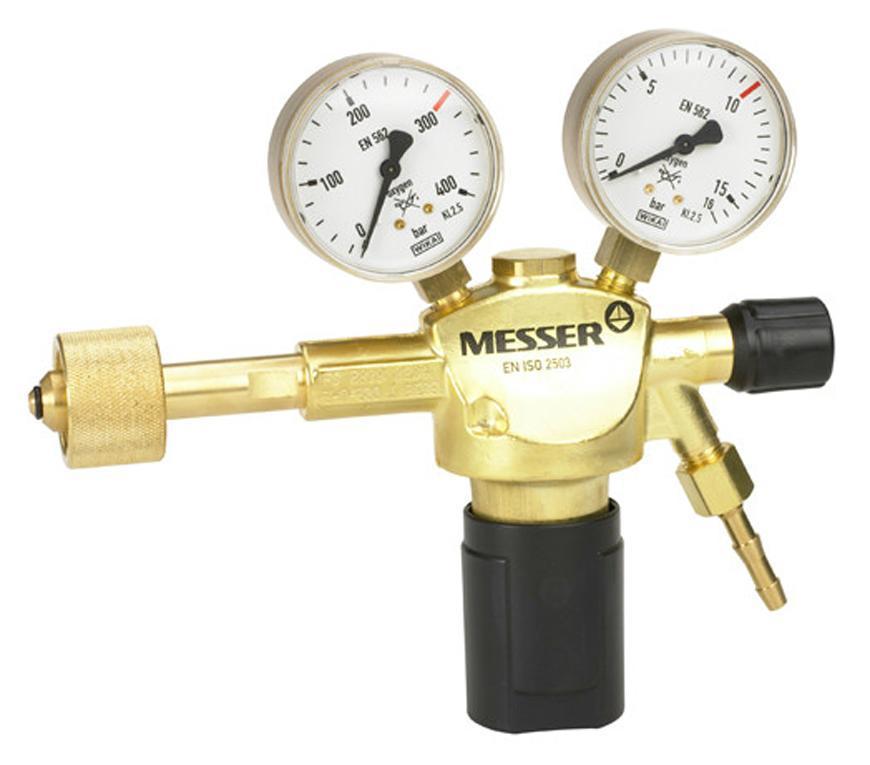 "Ventil Messer 717.06717, G1/4"", DN6, 20bar, Kyslík, vstup 300bar"