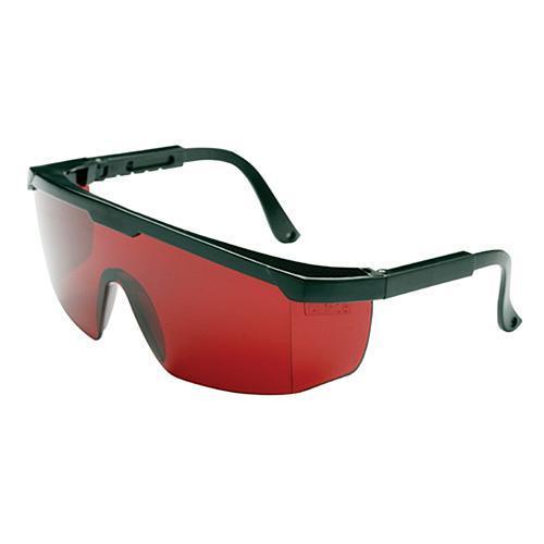 Okuliare Safetyco B507, červené, ochranné, nastaviteľné