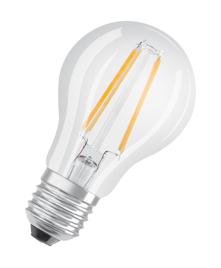 Ziarovka OSRAM® LED FIL 060 (ean9658) non-dim, 7W/827 E27 2700K Value  CLASSIC A