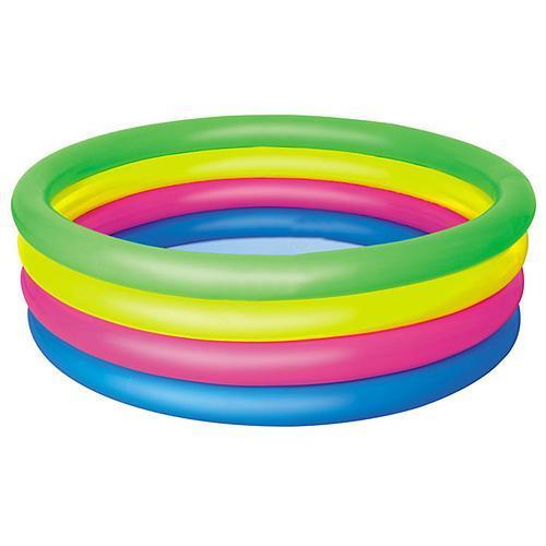 Bazén Bestway® 51117, Rainbow, detský, 157x46 cm, nafukovací, dúhový