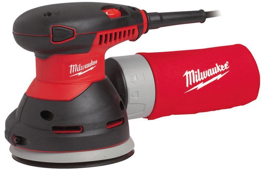 Bruska Milwaukee® ROS 125 E, 125 mm, 300W, excentrická