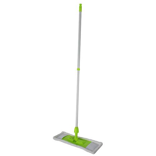 Mop Cleonix Microfiber, s palicou, biely