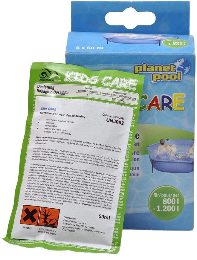 Prípravok Chemoform 0602, Kids Care, 5x50ml, sáčky